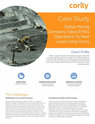 Global Mining Case Study - Cority