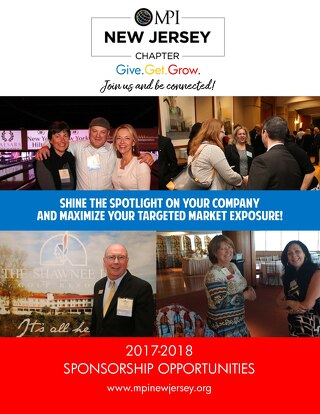 MPI New Jersey Chapter Sponsor Packages 2017 2018
