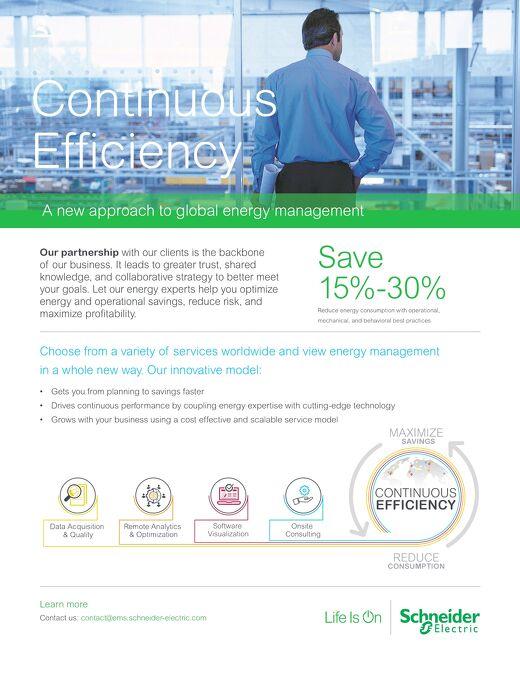 Continuous Efficiency