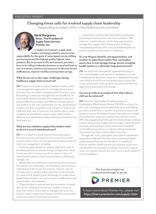 Executive Insight: Changing Times Calls for Evolved Supply Chain Leadership