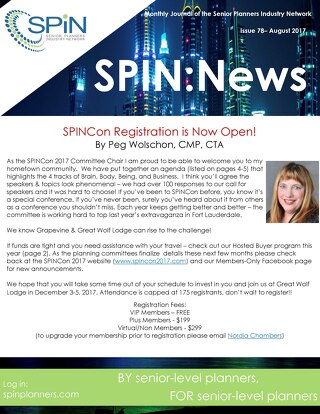 August 2017 SPIN News
