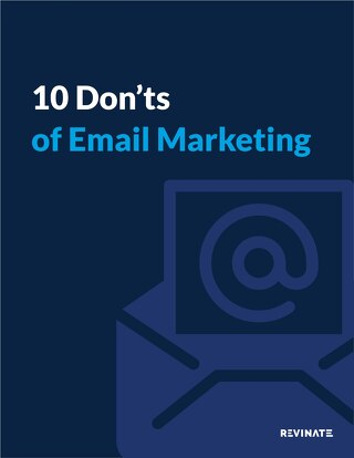 10 Don'ts of Hotel Email Marketing