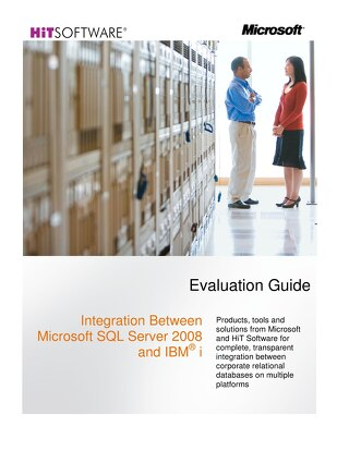 Integration Between Microsoft SQL Server 2008 and IBM® i