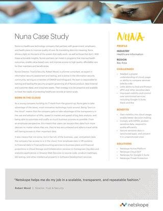 Nuna Case Study