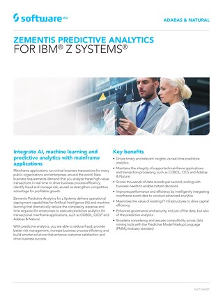 Predictive Analytics for z Systems®