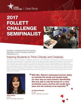 2017 Follett Challenge High School Semifinalist Escambia County School District