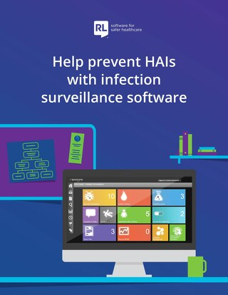 Help prevent HAIs with infection surveillance software