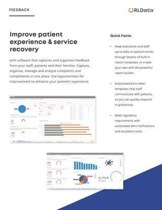 Gain better patient insight with Feedback software