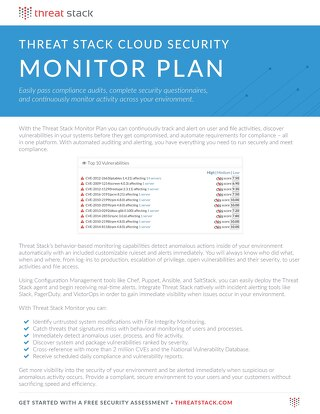 Threat Stack Monitor Datasheet