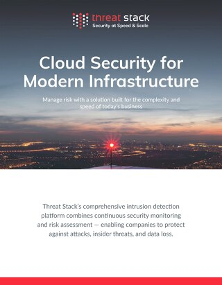 Threat Stack Cloud Security Overview