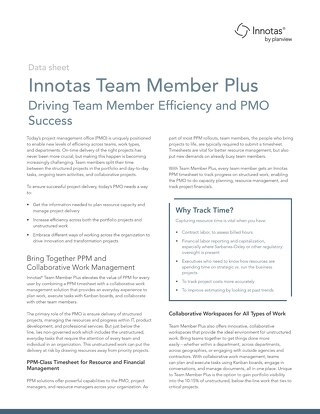 Innotas Team Member Plus