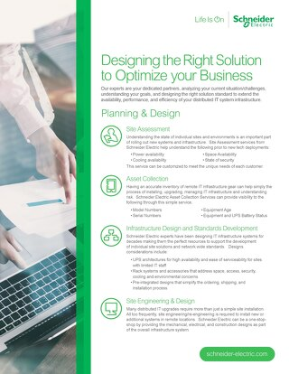 Designing the Right Solution to Optimize your Business
