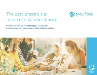 The Past, Present and Future of Data Warehousing