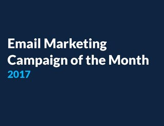 Email Marketing Campaign of the Month