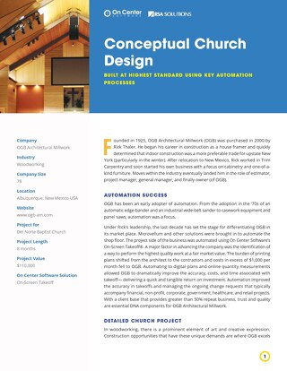 Conceptual Church Design