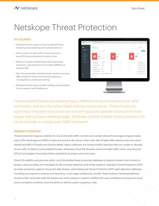 Netskope Advanced Threat Protect