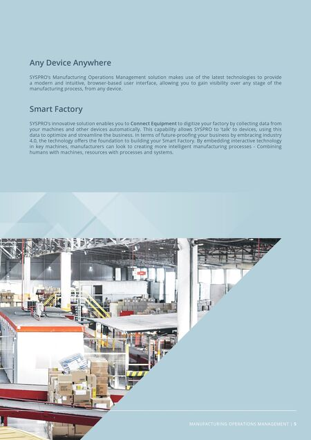 White Papers - Manufacturing Operations Management