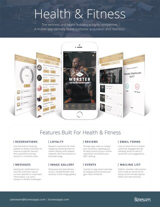Health & Fitness Features