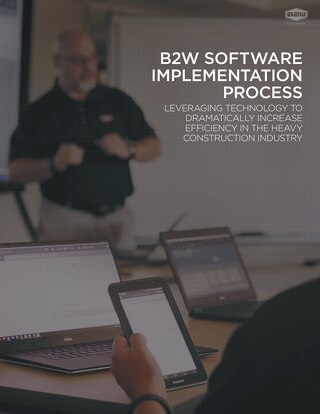 B2W Implementation Process Feb 2018