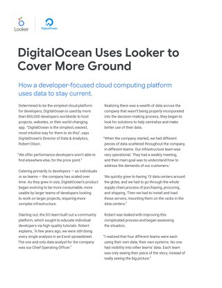 Digital Ocean Case Study