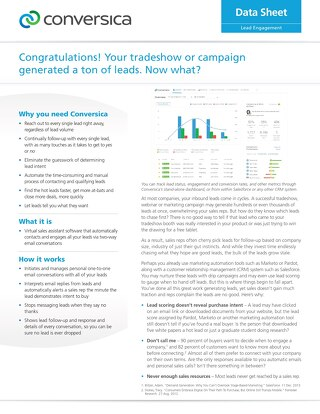 Your Tradeshow or Campaign Generated a Ton of Leads