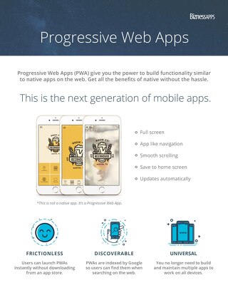 Progressive Web App Overview