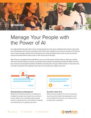 Manage Your People with the Power of AI