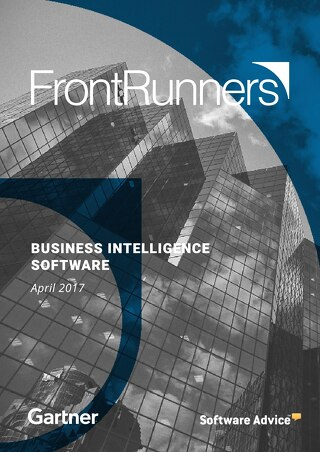 FrontRunners for BI Report April 2017 - Gartner Software Advice