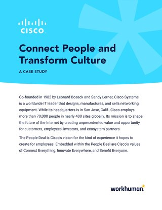 Case Study: Cisco