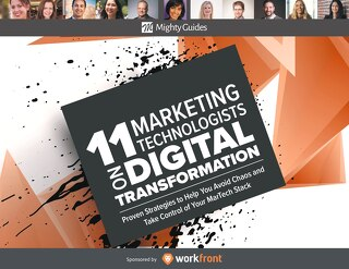 11 Marketing Technologists on Digital Transformation ebook