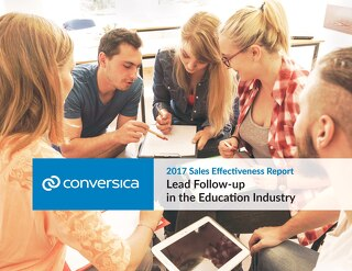 2017 Sales Effectiveness Report - Education Edition