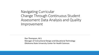 Navigating Curricular Change Through Continuous Student Assessment Data Analysis and Quality Improvement