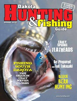 Spring Dakota Hunting & Fishing Guide