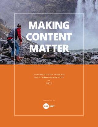 Making Content Matter