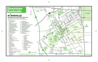 Downtown Huntsville Map