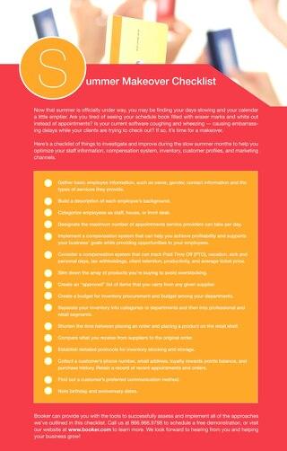 Summer Makeover Checklist