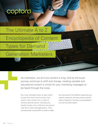 The Ultimate A to Z Guide to Content Types