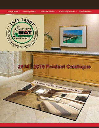 Executive Mat Complete Catalogue 2014 - 2015