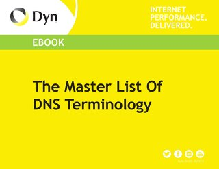 The Master List Of DNS Terminology