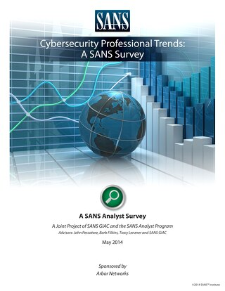 SANS Survey: Cybersecurity Professional Trends