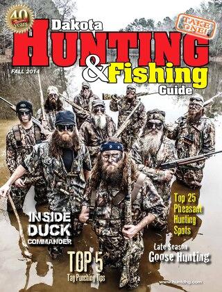 Fall 2014 Dakota Hunting & Fishing Guide