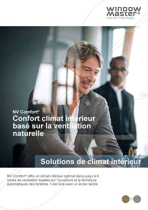 NV Comfort® - Le contrôle de la ventilation naturelle et de la ventilation hybride