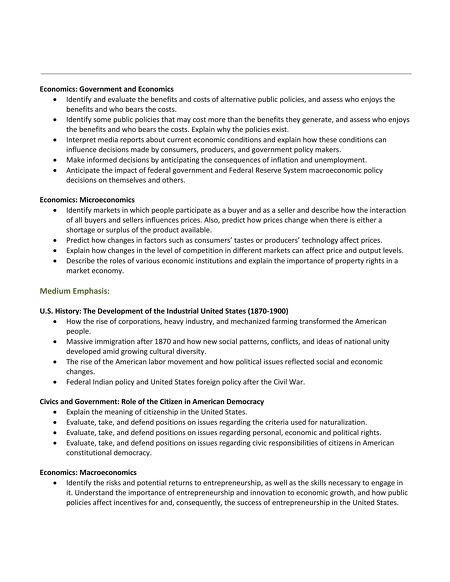 Tasc test blueprint fact sheet social studies malvernweather Image collections