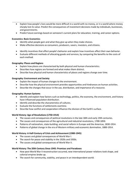 Tasc test blueprint fact sheet social studies contents of this issue malvernweather Images