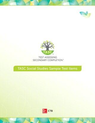 TASC Test Social Studies Sample Items