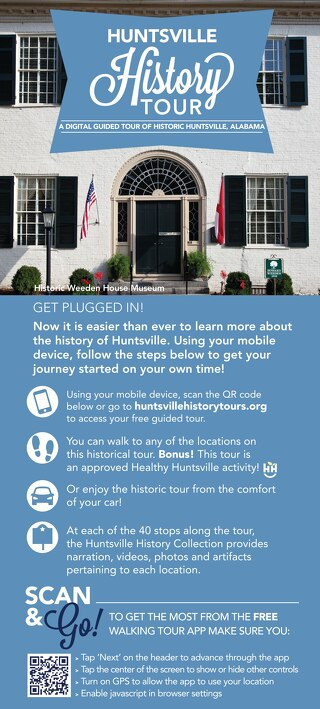 The Self-Guided Huntsville History Tour