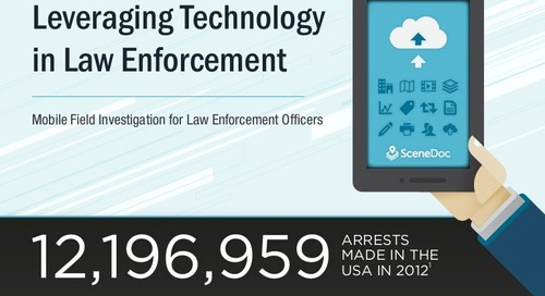 Leveraging Technology in Law Enforcement ~ SceneDoc Infographic