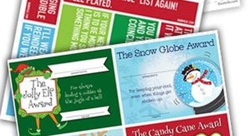 Free Printables from Your Favorite Holiday Hero: Baudville!