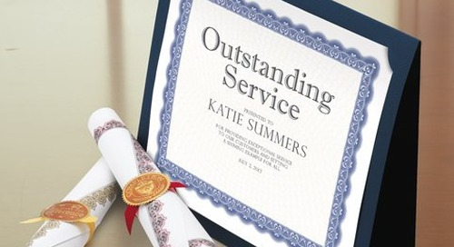 Five Tips for Recognizing with Award Certificates