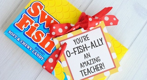 DIY Teacher Appreciation Gifts That Are Easy, Affordable & Quick!